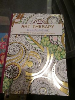 Maroon 120 Design - Art Therapy - Colouring For Mindfulness