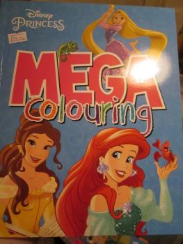 Disney Princess - Licensed Mega Colouring Book