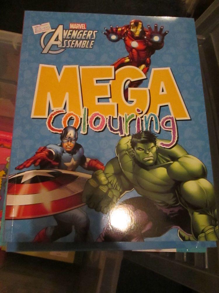Marvel Avengers Assemble - Licensed Mega Colouring Book