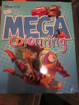 Disney Pixar - Licensed Mega Colouring Book