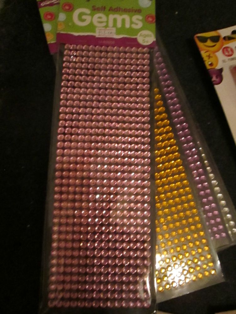 Pink - Crafty Creations - Self Adhesive Gems