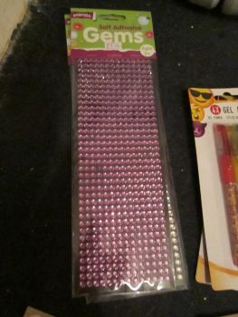 Purple - Crafty Creations - Self Adhesive Gems