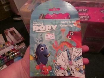 Disney Pixar Finding Dory - Licensed Carry Along Colouring Set