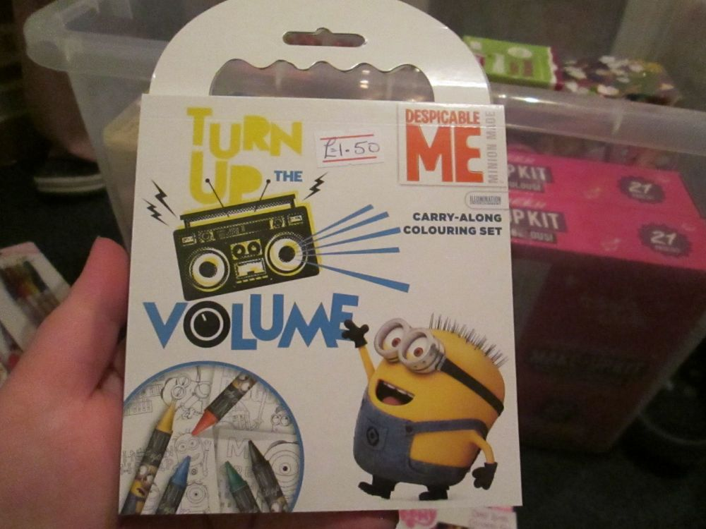 Despicable Me - Licensed Carry Along Colouring Set