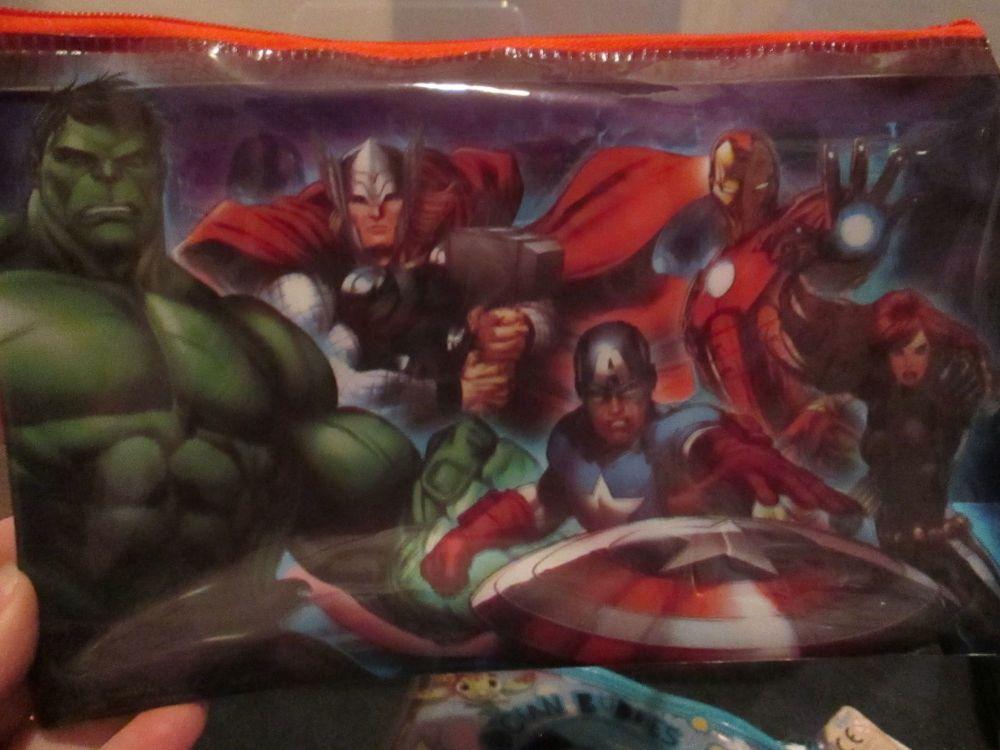 Marvel Avengers - Licensed PVC Flatline Pencil Case