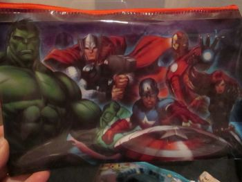 Marvel Avengers - Licensed PVC Flatline Pencil Case