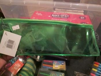 Green PVC Flatline Pencil Case - Glide