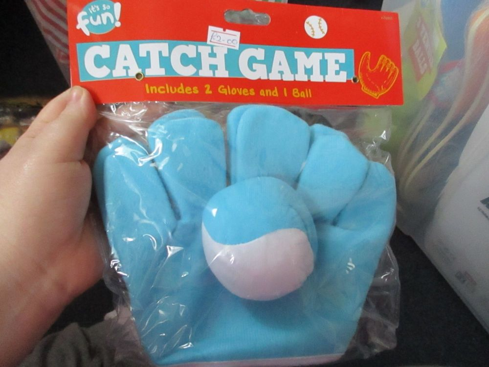 Blue - Two Glove Catch Game - Its So Fun
