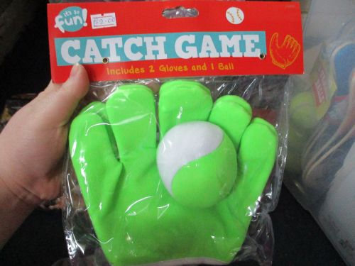 Green - Two Glove Catch Game - Its So Fun