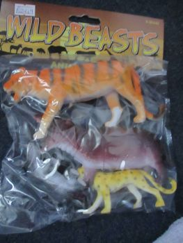 Tiger Bag - Wild Beasts Playset
