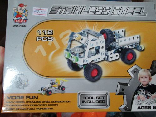 Truck Kit  127pc - Stainless Steel