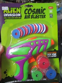 Green Gun - Alien Invasion Cosmic Air Blaster