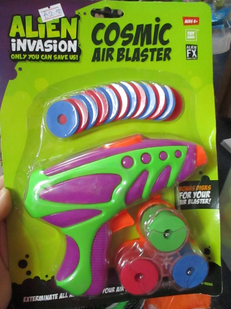 Purple Gun - Alien Invasion Cosmic Air Blaster