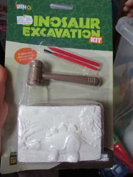 Stegosaurus Dinosaur Excavation Dig Out Kit