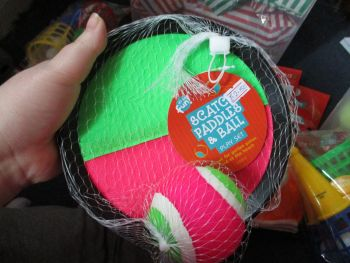 Twin Velcro Paddle & Ball Set - Its So Fun
