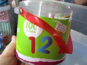 Numbers - Crafty Creations 3D Foam Self Adhesive Stickers