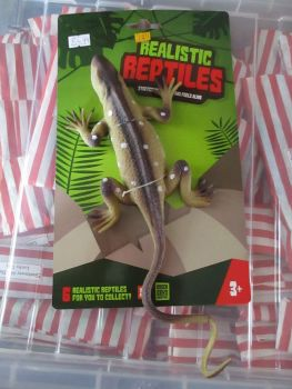 Brown Lizard - Stretchy Rubbery- Realistic Reptiles