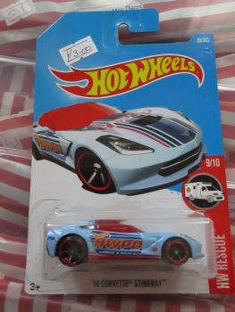 '14 Corvette Stingray - Hot Wheels - HW Rescue