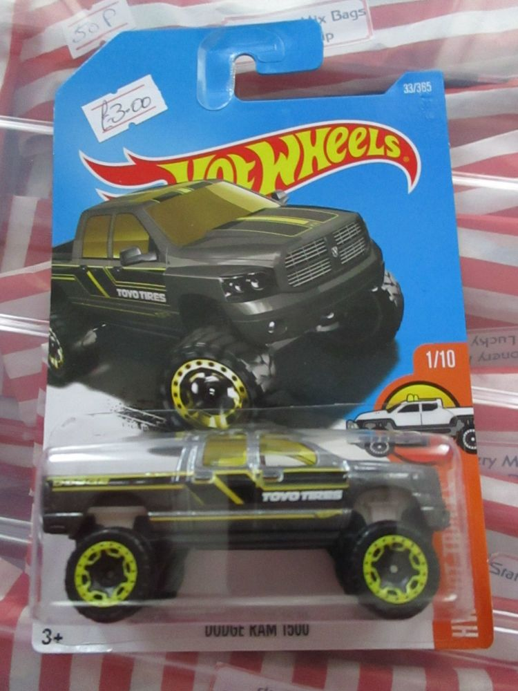 Dodge Ram 1500 - Hot Wheels - HW Hot Trucks