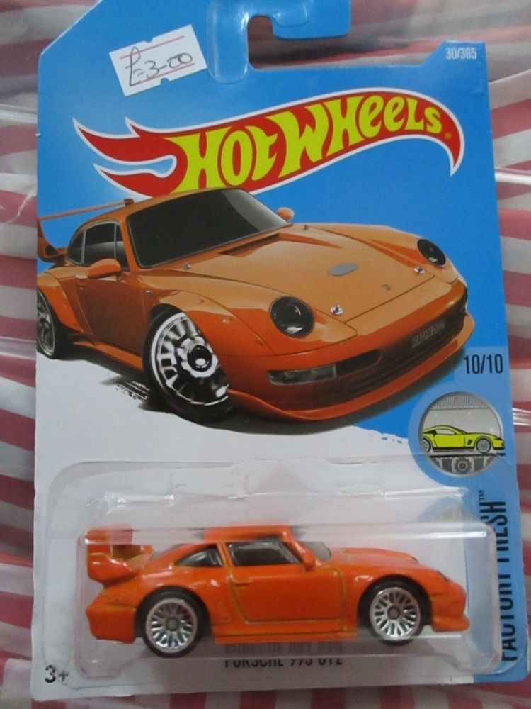 Porsche 993 GT2 - Hot Wheels - HW Factory Fresh