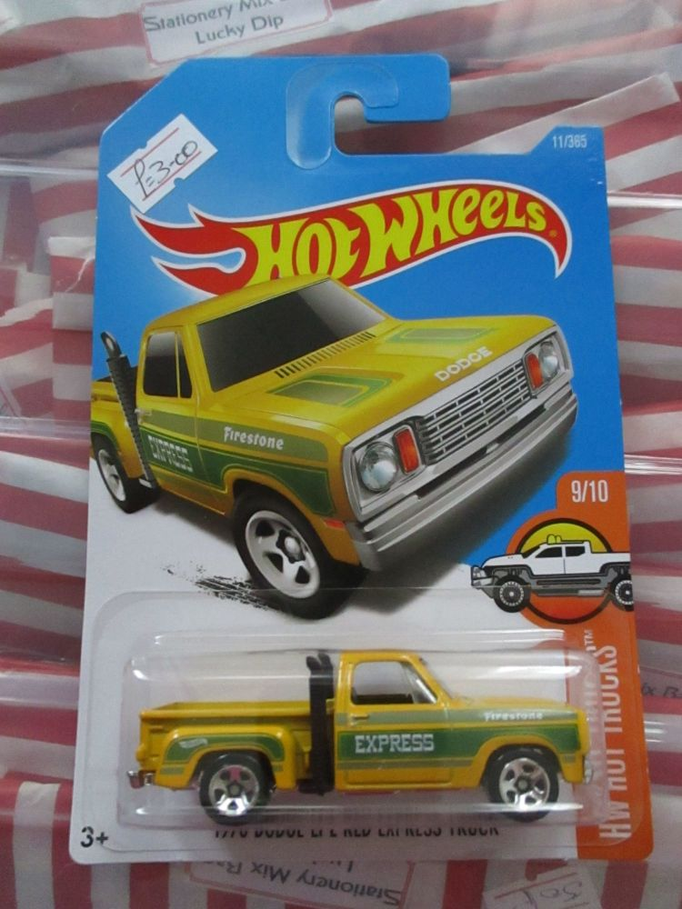 1978 Dodge Li'l Red Express Truck - Hot Wheels - HW Hot Trucks
