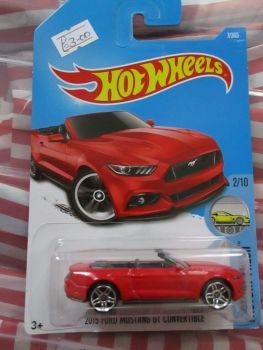 2015 Ford Mustang GT Convertible - Hot Wheels - HW Factory Fresh