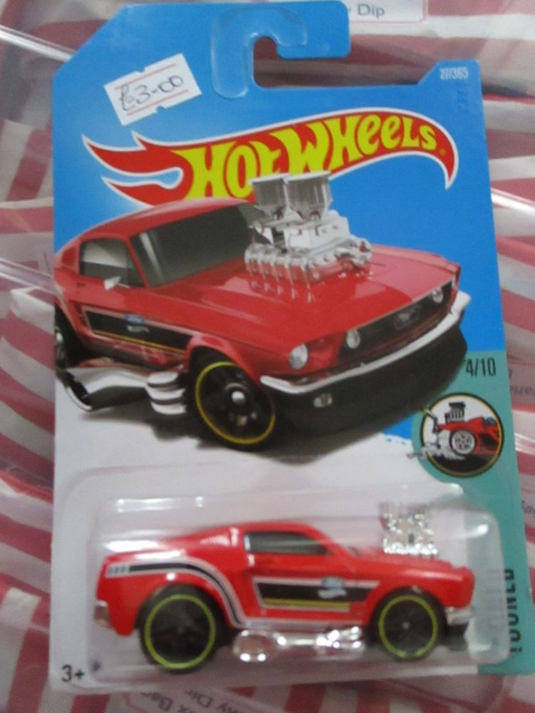 '68 Mustang - Hot Wheels - HW Tooned