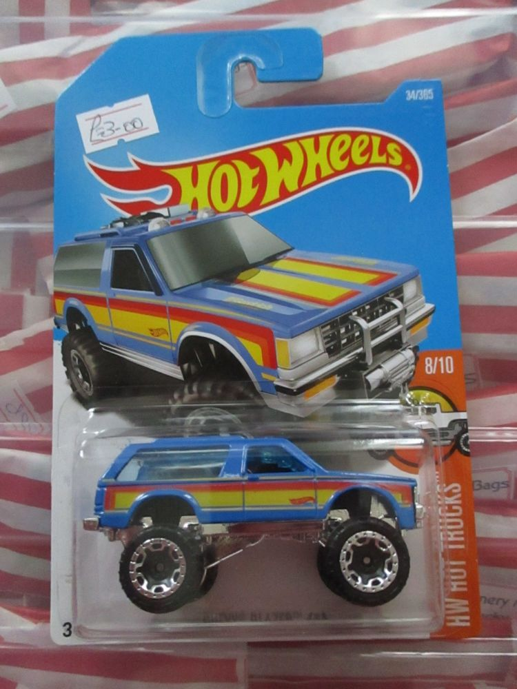 Chevy Blazer 4x4 - Hot Wheels - HW Hot Trucks