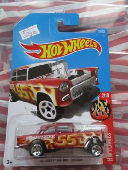 '55 Chevy Bel Air Gasser - Hot Wheels - HW Flames