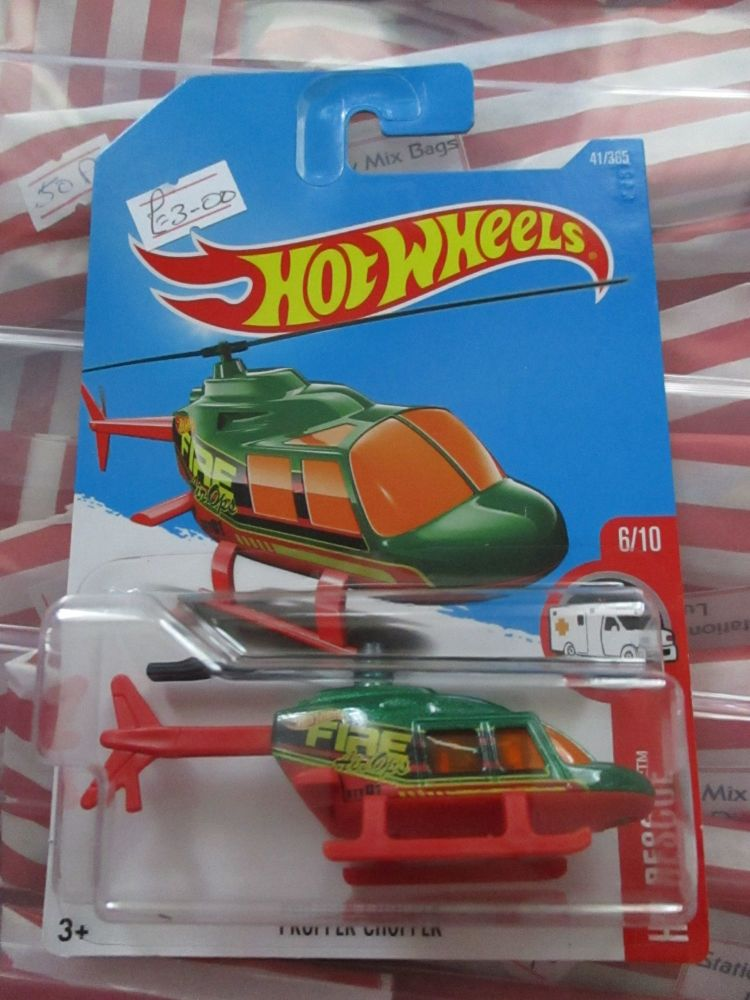 Propper Chopper - Hot Wheels - HW Rescue