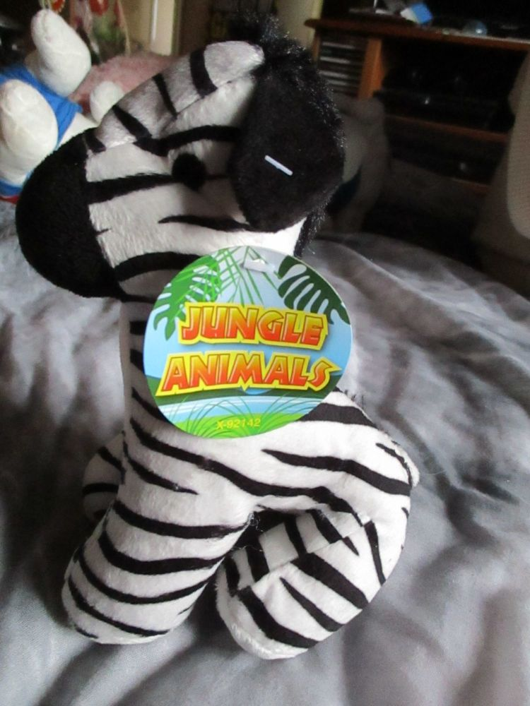 Zebra - Jungle Animals - Soft Toy