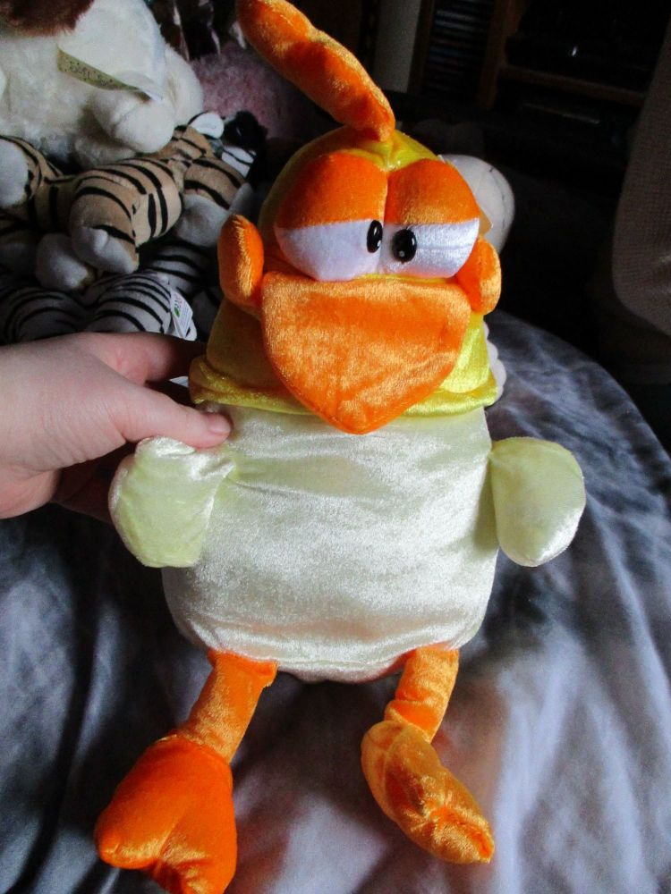 Yellow Mad Chicken - Character Co - Soft Toy