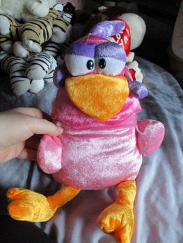 Pink Mad Chicken - Character Co - Soft Toy