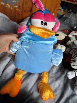 Blue Mad Chicken - Character Co - Soft Toy