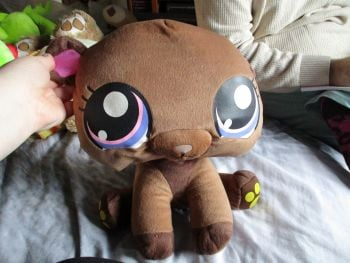 Large Brown Bear - Littlest Pet Shop - Soft Toy