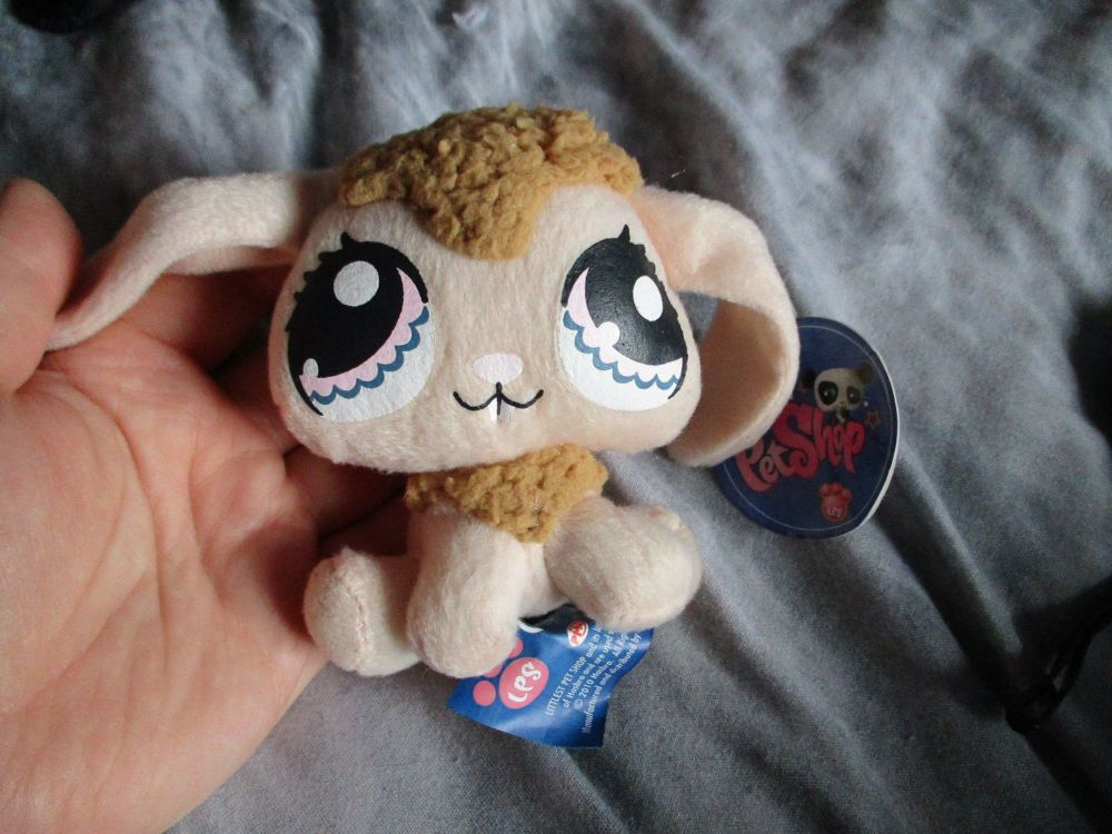 Small Peach Bunny - Littlest Pet Shop - Soft Toy