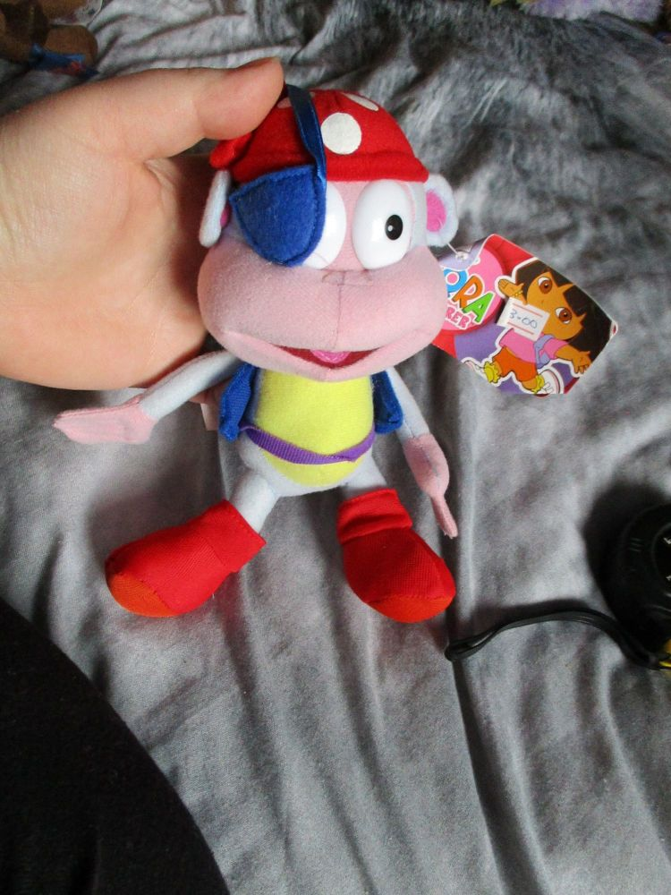Pirate Boots The Monkey - Nickelodeon Dora The Explorer - Soft Toy