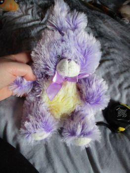 Purple Frosted Bunny Rabbit - Soft Sensations - Soft Toy