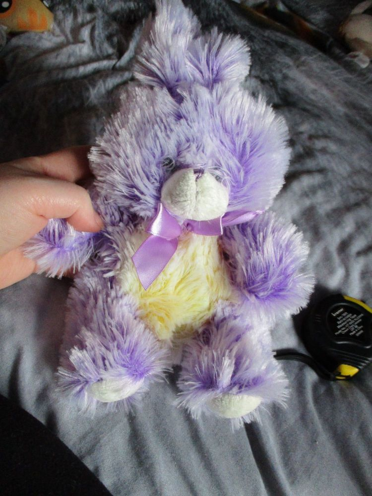 Purple Frosted Bunny Rabbit - Soft Sensations - Soft Toy