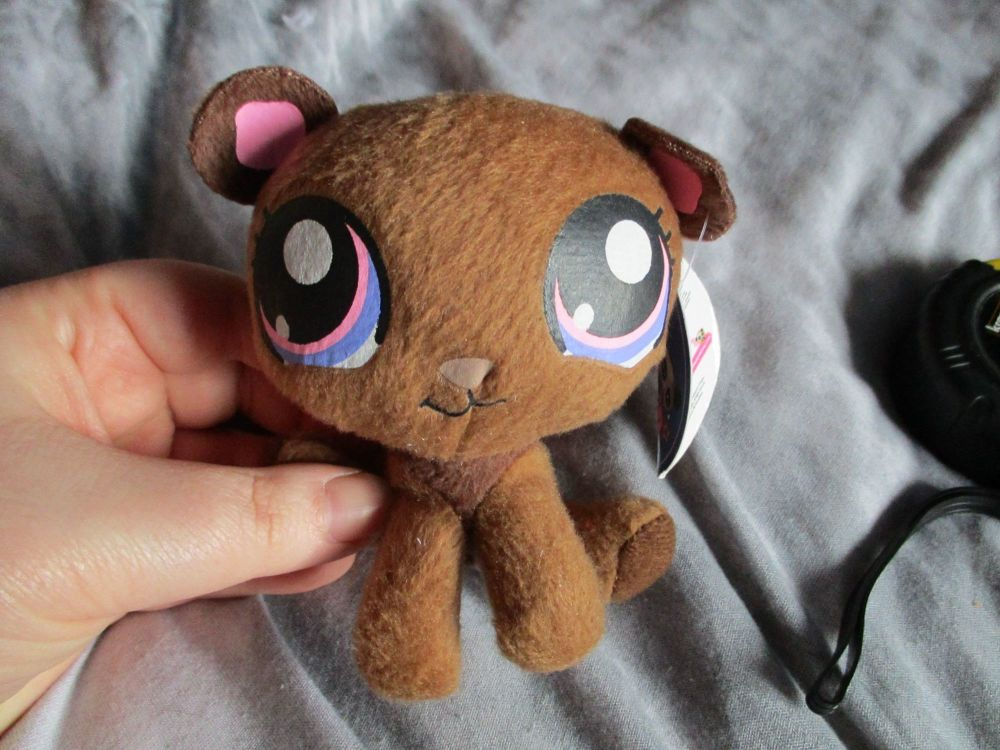 Small Brown Bear - Littlest Pet Shop - Soft Toy