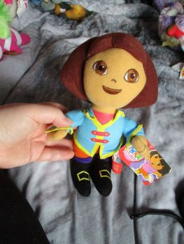 Medium Pirate Dora - Nickelodeon Dora The Explorer - Soft Toy