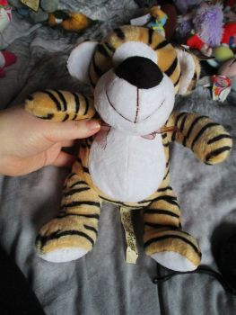 Tiger with Ribbon - Soft Sensations - Soft Toy