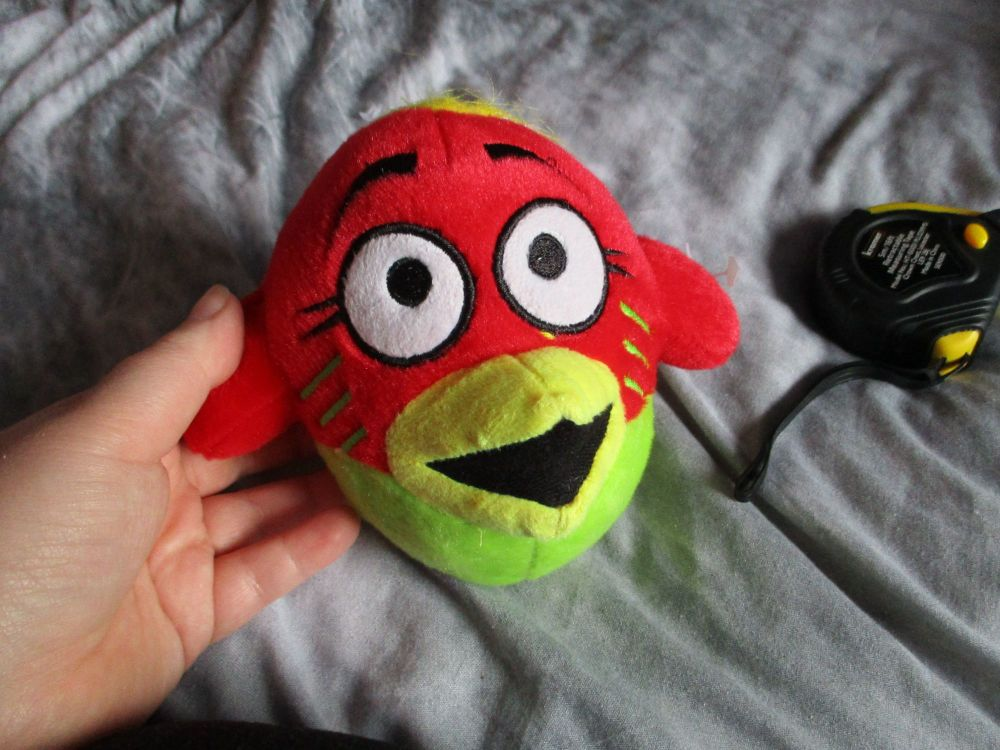 Small Red Bird Brain - Bird Brainz - Soft Toy