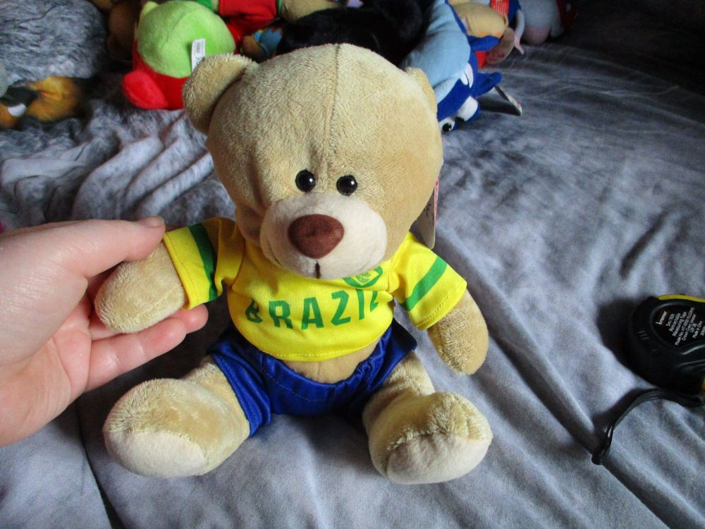Brazil - Football Crazy - Soft Toy