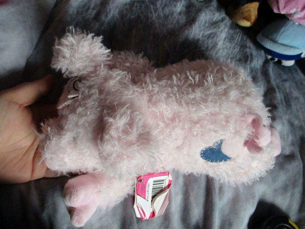 Pink Hearts Pig - Cotton Candy - Soft Toy