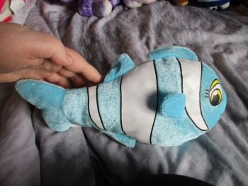 Blue Clownfish - Character Co - Soft Toy