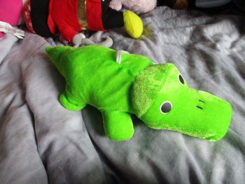 Light Green Crocodile - Character Co - Soft Toy