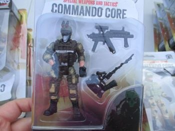 Mask Wearing Soldier - Commando Core