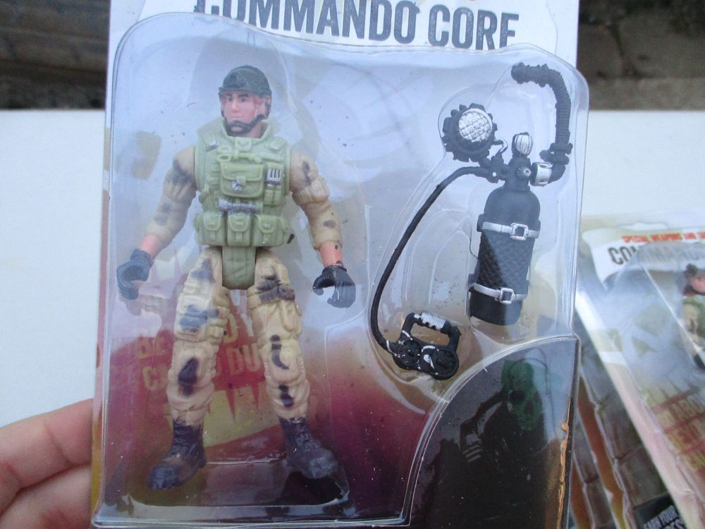 Scuba Tank Soldier - Commando Core