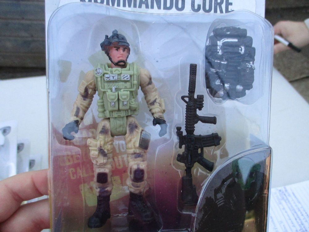 Backpack Soldier - Commando Core